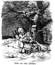 Ludwig Richter-Gabe (Eine Auslese aus den Werken des Meisters mit Texten von Ferdinand Avenarius)