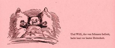 Baby mit Zahnschmerzen Bildlegende: Wilhelm Busch Der Schreihals © noten-apitz.de Bildquelle: Wilhelm Busch-Album, Humoristischer Hausschatz, Sammlung der beliebtesten Schriften mit 1500 Bildern, 22. Auflage München Verlag v. Fr. Bassermann, 1911