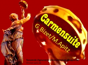 Carmensuite, G.Bizet (Georges Bizet)/M. Apitz (Manfred Apitz); Tanzende Zigeunerin Uhrenmuseum Wuppertal Sparte: 19. Jh. Konzert