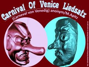 """Carnival of Venedig Liedsatz; Schnalstal Südtirol Kloster """"Kunst in der Kartause"""": Maske Bildlegende: Ital. Schnalstal Karthaus (Certosa) Kloster © noten-apitz.de Bildquelle: Musikverlag Apitz"""
