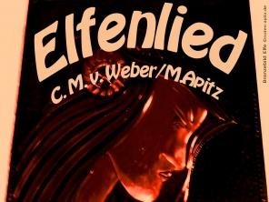 Elfenlied Bild: Model als Wandbild Bildlegende: Bronzebild Elfe ©noten-apitz.de Bildquelle: Blumenstübchen am Park, Köthen