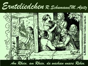 Ernteliedchen R. Schumann / M. Apitz; L. Richter – Ludwig Richter Weinlese Sparte: 19. Jh. Konzert