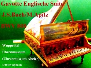 Gavotte Englische Suite BWV 808 J. S. Bach / M. Apitz; Wuppertal Uhrenmuseum (Uhrenmuseum Abeler) Sparte: 17.+ 18. Jh. Konzert