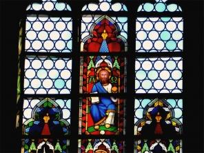 Glasfenster St. Jakob Köthen ©noten-apitz.de; Bildquelle: Musikverlag Apitz