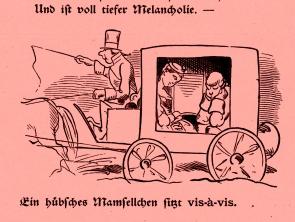 """Wilhelm Busch """"Bilder zu Jobsiade"""" ©noten-apitz.de; Bildquelle: Wilhelm Busch-Album, Humoristischer Hausschatz, Sammlung der beliebtesten Schriften mit 1500 Bildern, 22. Auflage München Verlag v. Fr. Bassermann, 1911"""