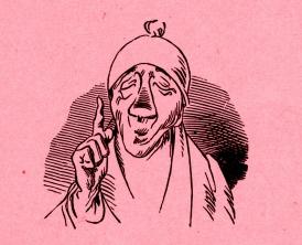 """Wilhelm Busch: """"Die fromme Helene – Epilog"""" ©noten-apitz.de; Bildquelle: Wilhelm Busch-Album, Humoristischer Hausschatz, Sammlung der beliebtesten Schriften mit 1500 Bildern, 22. Auflage München Verlag v. Fr. Bassermann, 1911"""
