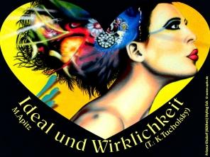 Ideal und Wirklichkeit Bild: Traumfrisur Haarstyling als Wandgemälde, Illusionsmalerei Bildlegende: Friseur Elsdorf (Köthen) Styling Eck © noten-apitz.de Bildquelle: Musikverlag Apitz
