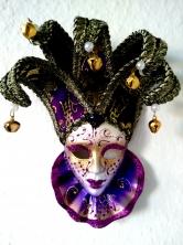 Bild: Venezianische Masken für das Nacherleben des Carneval di Venezia Bildlegende: Maske Venedig © noten-apitz.de Bildquelle: Häckel