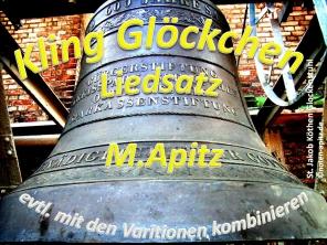 Kling Glöckchen anonym/M. Apitz (Manfred Apitz); St. Jakob Köthen, Glocke im Glockenstuhlhängend Sparte: Weihnachten