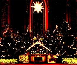 St. Jakob Köthen Weihnachtskrippe ©noten-apitz.de; Bildquelle: Grünbaum