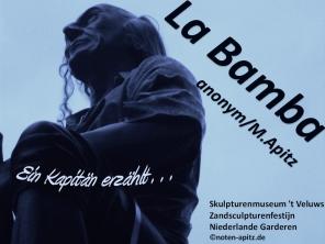La Bamba anonym / M. Apitz (Manfred Apitz); Skulpturenmuseum 't Veluws Zandsculpturenfestijn Niederlande Garderen Sparte: Lateinamerika Volkslied