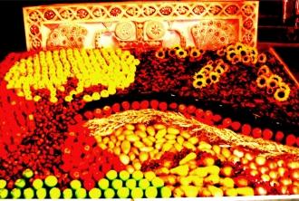 Erntedank Bild mit Äpfeln…, Algund Südtirol (Vinschgau) ©noten-apitz.de; Bildquelle: Musikverlag Apitz