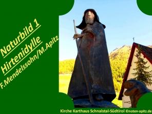 Naturbilder 1 Hirtenidylle, F. Mendelssohn / M. Apitz (Felix Mendelssohn Bartholdy / Manfred Apitz); Kirche Karthaus Schnalstal-Südtirol Sparte: 19. Jh. Konzert