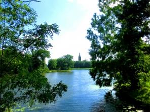 Wörlitzer Park-Anhalt, Sichtachse St.-Petri-Kirche Wörlitz ©noten-apitz.de; Bildquelle: Musikverlag Apitz