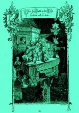 """Ludwig Richter """"Ehre sei Gott…"""" – Gloria, s. Bibel Lk.2.14 ©noten-apitz.de; Bildquelle: Ludwig Richter Leben und Werk Herausgegeben v. C. W. Schmidt mit 121 Holzschnitten und 45 Tafelbildern, Deutsche Buchvertriebs- und Verlagsgesellschaft Berlin 1948"""