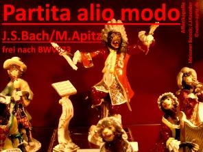 Partita alio modo, J. S. Bach/M. Apitz (Johann Sebastian Bach / Manfred Apitz); Affenkapelle, Meissner Barock; J. J. Kaender (Johann Joachim Kaendler) Sparte: 17.+18. Jh. Konzert