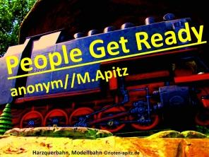 People Get Ready, anonym//M. Apitz (Manfred Apitz); Harzquerbahn, Modellbahn Sparte: Amerika geistlich