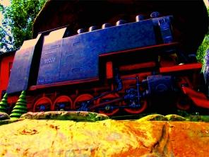 Harzquerbahn, Modellbahn ©noten-apitz.de; Bildquelle: Musikverlag Apitz