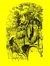 Turmbläser ©noten-apitz.de; Bildquelle: Ludwig Richter Leben und Werk Herausgegeben v. C. W. Schmidt mit 121 Holzschnitten und 45 Tafelbildern, Deutsche Buchvertriebs- und Verlagsgesellschaft Berlin 1948