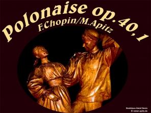 Polonaise Op.40.1, F.Chopin Bild: Tanz Bratislava Hotel Devin © noten-apitz.de Bildquelle: Musikverlag Apitz