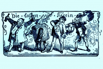 """Ludwig Richter """"Die lassen wir herein"""" ©noten-apitz.de; Bildquelle: Musikverlag Apitz"""