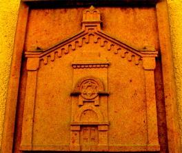 Synagoge Köthen (Abbildung Steinrelief) ©noten-apitz.de Bildquelle: Musikverlag Apitz