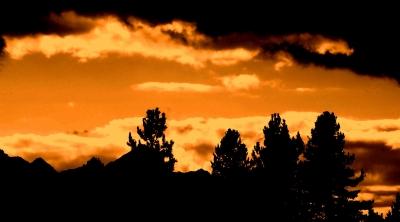 Alpen Sonnenuntergang ©noten-apitz.de; Bildquelle: Musikverlag Apitz