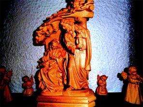 Krippenfiguren Weihnachtshaus Seiffen ©noten-apitz.de; Bildquelle: Musikverlag Apitz
