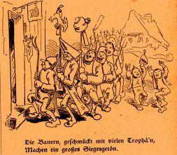 Bilder zur Jobsiade ©noten-apitz.de; Bildquelle: Wilhelm Busch-Album, Humoristischer Hausschatz, Sammlung der beliebtesten Schriften mit 1500 Bildern, 22. Auflage München Verlag v. Fr. Bassermann, 1911