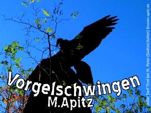 Vogelschwingen M. Apitz Bildlegende: Adler Dorf Tirol bei St. Peter (Südtirol, Italien) Sparte: Konzert 20./21. Jh.