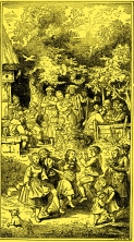 Ludwig Richter Leben und Werk Herausgegeben v. C. W. Schmidt mit 121 Holzschnitten und 45 Tafelbildern, Deutsche Buchvertriebs- und Verlagsgesellschaft Berlin 1948