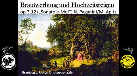 N. Paganini kostenlose Noten Orchester Streicher Holzbläser Saxophon Blechbläser Drum Kirmes Busch W.