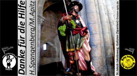 H. Spangenberg kostenlose Noten Gesang Sopran Alt Tenor Bass Gitarre Laute W. Busch Tobias Knopp Julchen
