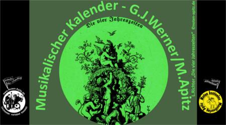 G. J. Werner kostenlose Noten Orchester Streicher Holzbläser Saxophon Blechbläser Drum Kirmes Busch W.