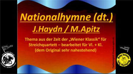 J. Haydn kostenlose Noten Orchester Streicher Holzbläser Saxophon Blechbläser Drum Kirmes Busch W.