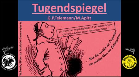 G. P. Telemann kostenlose Noten Orchester Streicher Holzbläser Saxophon Blechbläser Drum Kirmes Busch W.