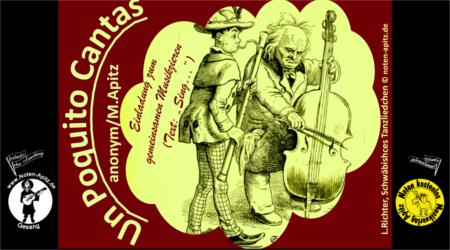 Volkslied kostenlose Noten Gesang Sopran Alt Tenor Bass Gitarre Laute W. Busch Tobias Knopp Julchen