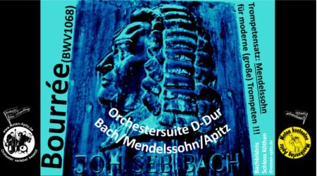 J. S. Bach kostenlose Noten Orchester Streicher Holzbläser Saxophon Blechbläser Drum Kirmes Busch W.