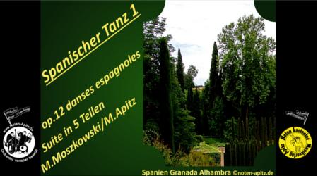 M. Moszkowsk kostenlose Noten Orchester Streicher Holzbläser Saxophon Blechbläser Drum Kirmes Busch W.