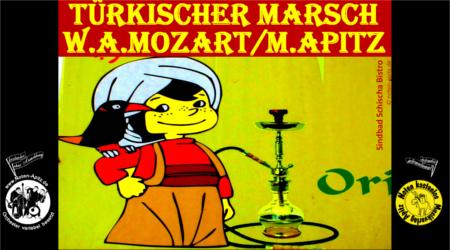 W. A. Mozart kostenlose Noten Orchester Streicher Holzbläser Saxophon Blechbläser Drum Kirmes Busch W.